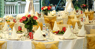 Особенности свадебного меню