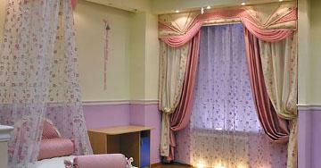 Правильные шторы в спальне помогут спокойно уснуть