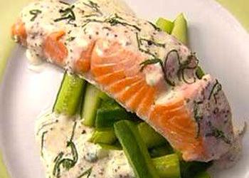 блюда рыба