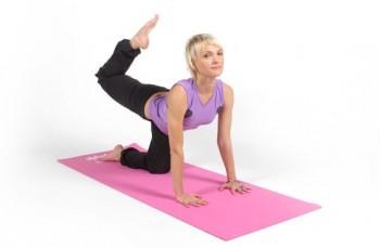 Коврик для йоги поможет снять боль