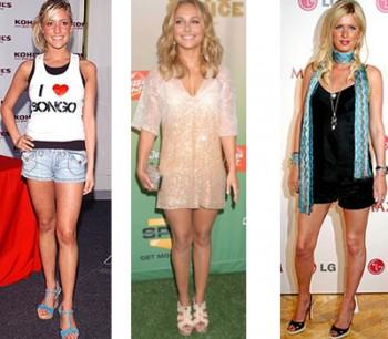 Короткие ноги. Выбор одежды