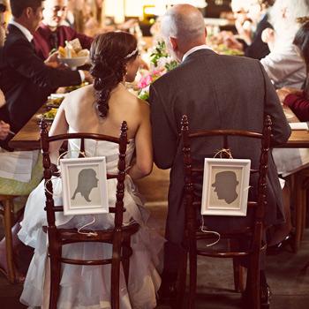 Как оригинально оформить свадебный стол в классическом стиле