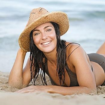 Солнце, пляж и волосы