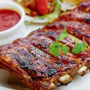 Романтический ужин- свиные мешочки