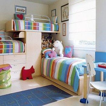 ворсистый ковёр в детскую