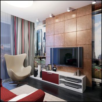планировка интерьера однокомнатных квартир
