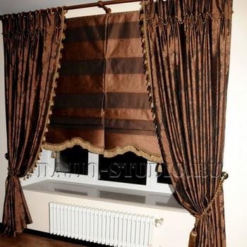 Готовые римские шторы