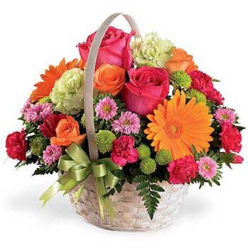 Закажем даме цветы