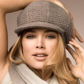 Выбираем оттенок шапки под разные типы лица