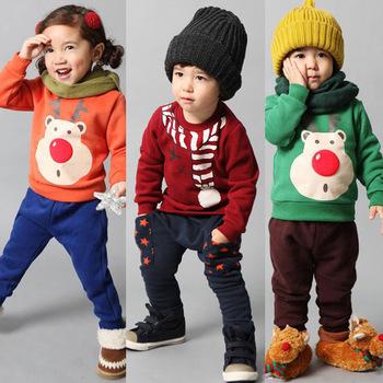 Осень-зима-2014-мальчики-девочки-дети-толстовки-детской-одежды-комплект-детей-флис-комплект-одежды-infantil-conjunto.jpg_350x350