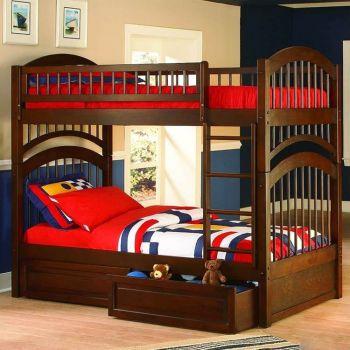 Двухъярусная кровать — бесконечное пространство для игр!