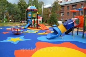 Оптовые поставки полов для детских площадок напрямую с завода